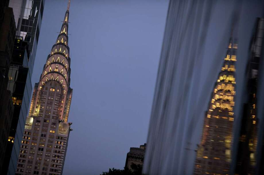 The Chrysler Building, one of the most iconic building in the New York skyline, is owned by the Abu Dhabi Investment Council. Photo: Getty