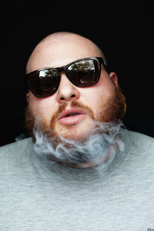 AUSTIN, TX - MARCH 16:  Action Bronson poses for a portrait backstage at Fader Fort presented by Converse during SXSW on March 16, 2012 in Austin, Texas.  (Photo by Roger Kisby/Getty Images) Photo: Roger Kisby, Contributor / 2012 Roger Kisby
