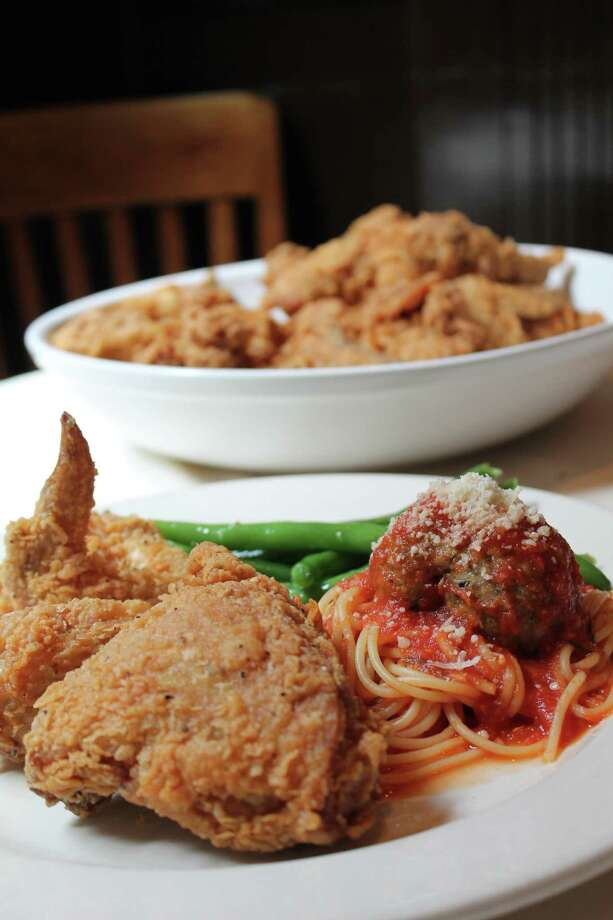 Damian's Cucina Italiana will offer a special fried-chicken dinner every Friday in June and July. Photo: Courtesy Photo
