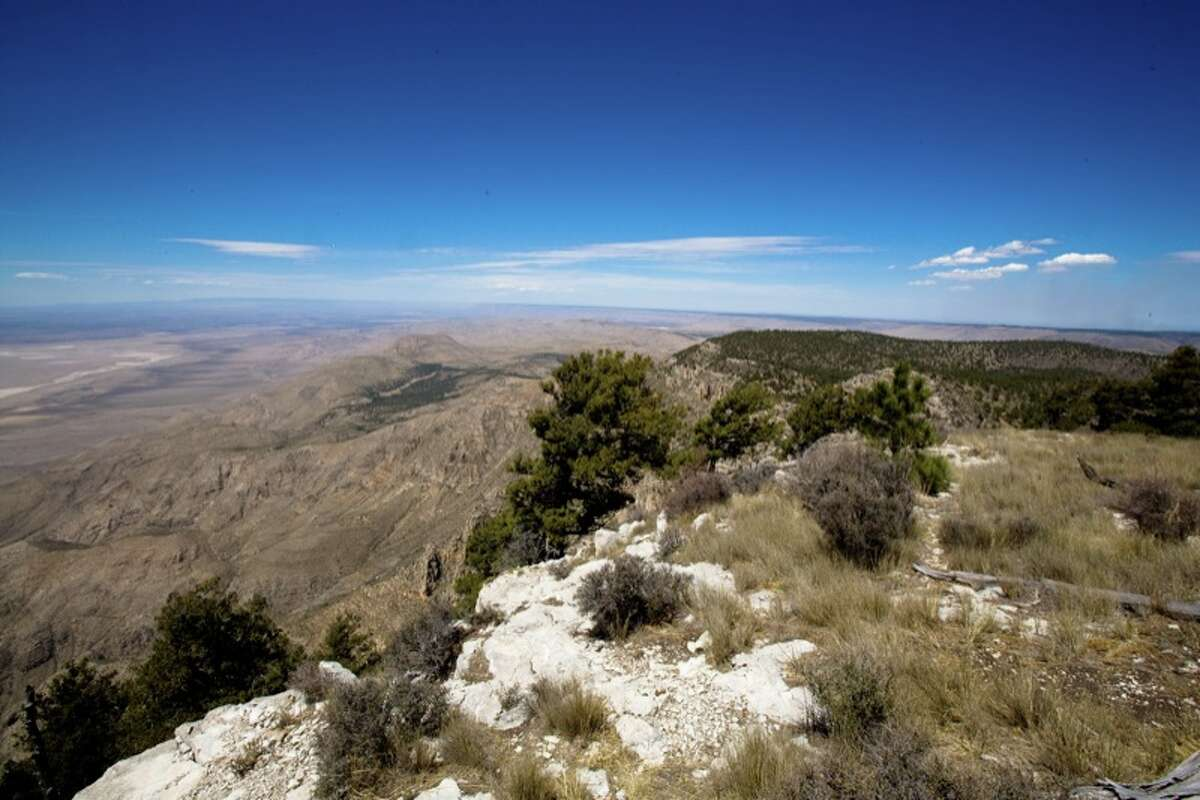 Bush Mountain: 8,631 feet Texas' second highest mountain is also found in Guadalupe Mountains National Park.