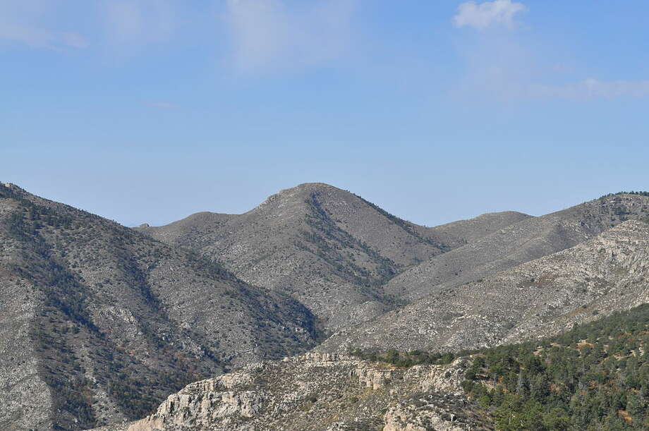 Bartlett Peak: 8,508 feet With no trail to its summit, according to summitpost.org, the majority of visitors to the Guadalupe Mountains National Park bypass this peak. Photo: Fredlyfish4 / Wikimedia Commons