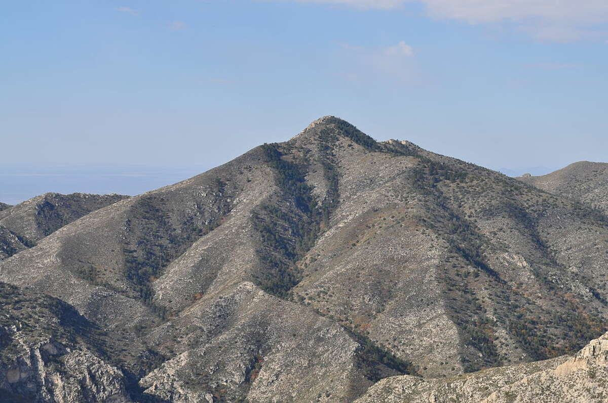 Shumard Peak: 8,615 feet Reaching this summit in Guadalupe Mountains National Park, according to summitpost.org,