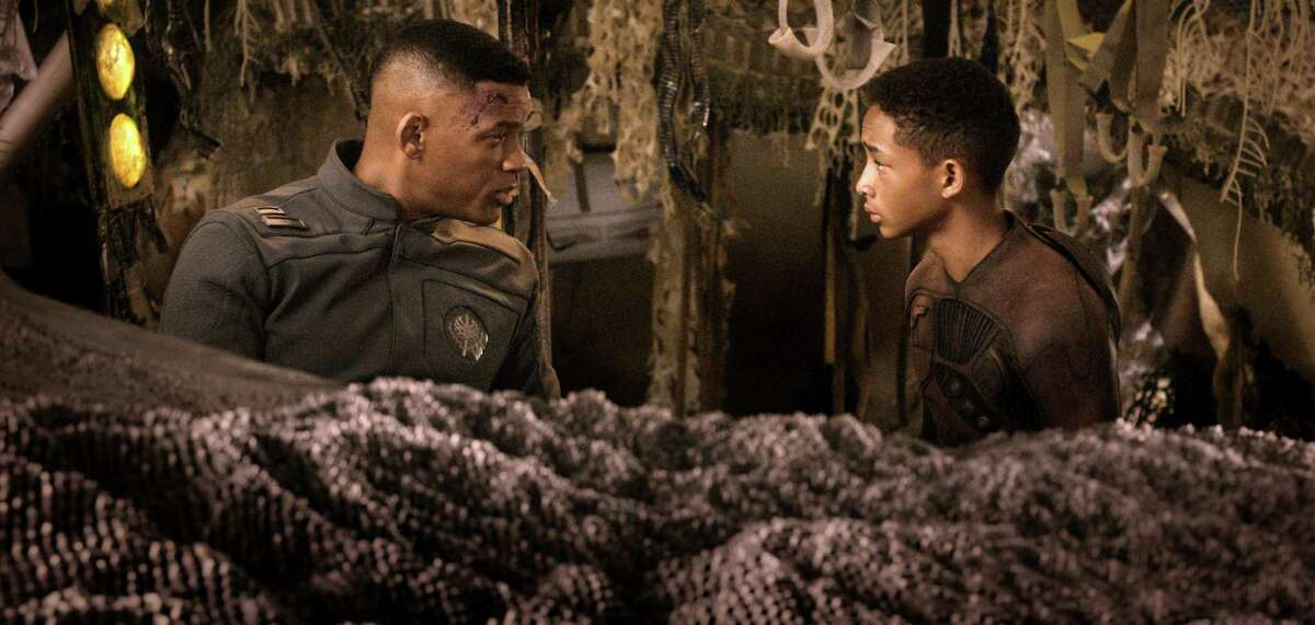"""""""After Earth,"""" a sci-fi coming-of-age story, Tyler Perry's """"A Madea Christmas"""" and """"Movie 43"""" are tied with six Razzie nods each."""