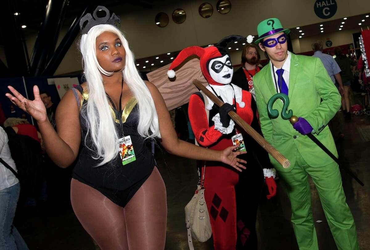 Scenes from Comicpalooza.