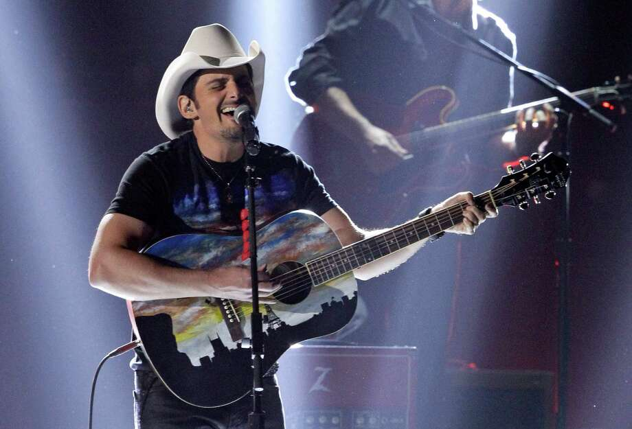 Brad Paisley performs onstage at the 46th Annual Country Music Awards at the Bridgestone Arena on Thursday, Nov. 1, 2012, in Nashville, Tenn. (Photo by Wade Payne/Invision/AP) Photo: Wade Payne / Invision