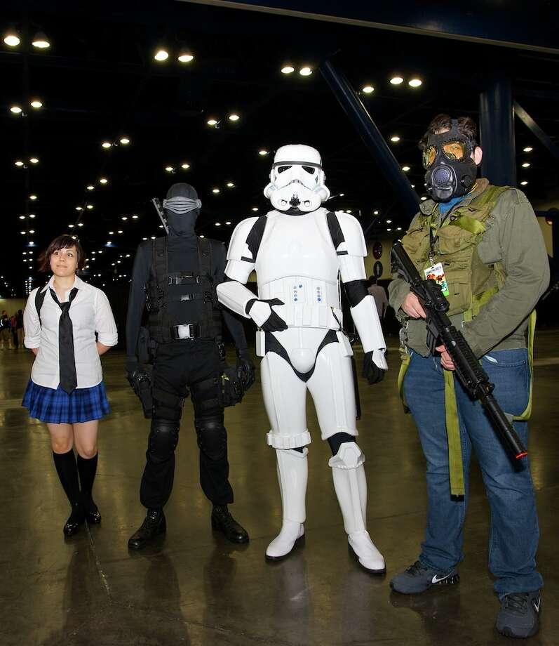 Stormtroopers at Comicpalooza.