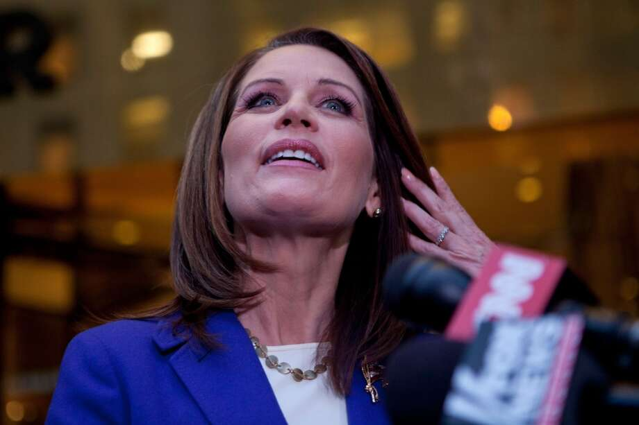 Bachmann via Politifact:  ''After the debate that we had last week, PolitiFact came out and said that everything I said was true.''  Politifact's response: ''Uh, except for that pant's on fire.''