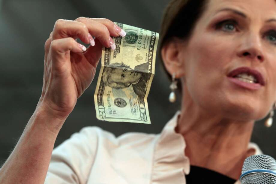 Bachmann via Politifact:  Of every ''three dollars in food stamps for the needy, seven dollars in salaries and pensions (go to) the bureaucrats who are supposed to be taking care of the poor.''  Politifact's response: ''Overhead is 5 percent at most, not 70 percent''