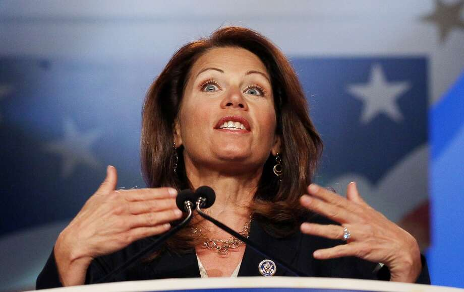 Bachmann via Politifact:  ''One. That's the number of new drilling permits under the Obama administration since they came into office.''  Politifact's response: ''One wrong statement''