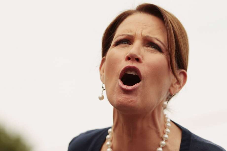 Bachmann via Politifact:  ''Scientists tell us that we could have a cure in 10 years for Alzheimer's'' were it not for ''overzealous regulators, excessive taxation and greedy litigators.''  Politifact's response: ''Scientists tell us this is nonsense''