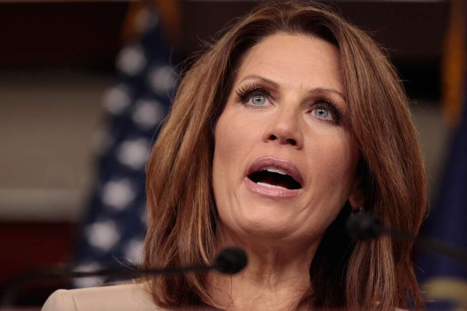 Bachmann via Politifact:  Says the Constitution only requires her to tell the census ''how many people are in our home.''  Politifact's response: ''Bachmann's claim, wrong and illegal''