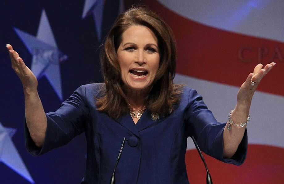 Bachmann via Politifact:  ''Speaker Pelosi ... has been busy sticking the taxpayer with her $100,000 bar tab for alcohol on the military jets that she's flying.''  Politifact's response: ''A small fraction of that amount was for alcohol''