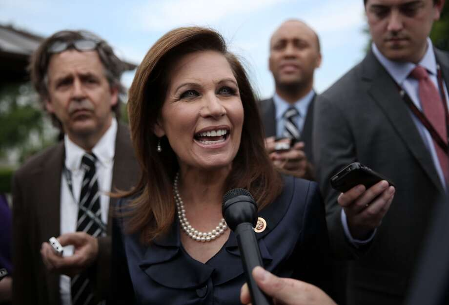 Bachmann via Politifact:  The IRS is going to be ''in charge'' of ''a huge national database'' on health care that will include Americans' ''personal, intimate, most close-to-the-vest-secrets.''  Politifact's response: ''None of those things''