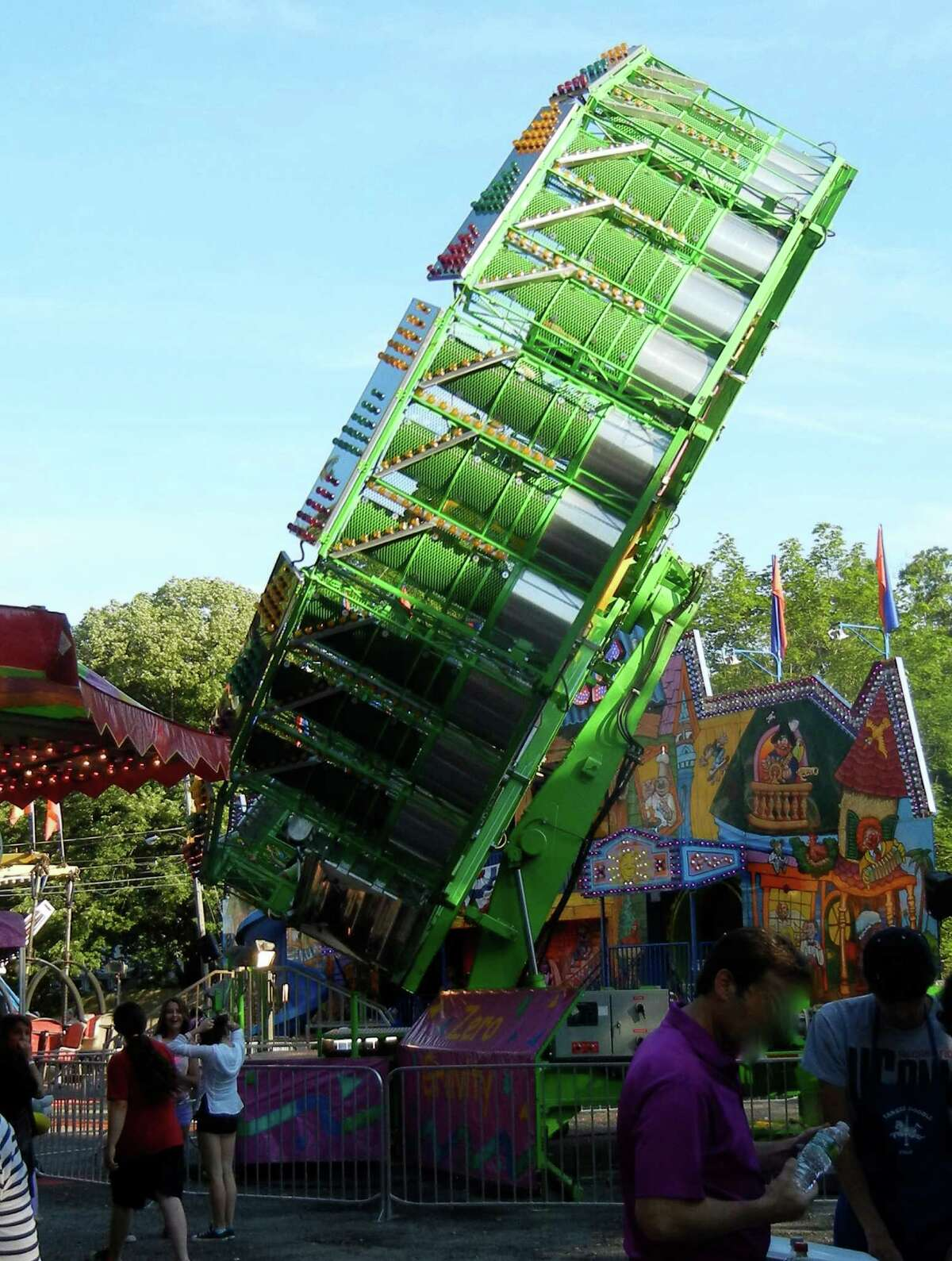 Rides like Zero-Gravity are major attractions at the Yankee Doodle Fair on the grounds of Westport Woman's Club from June 13-16.