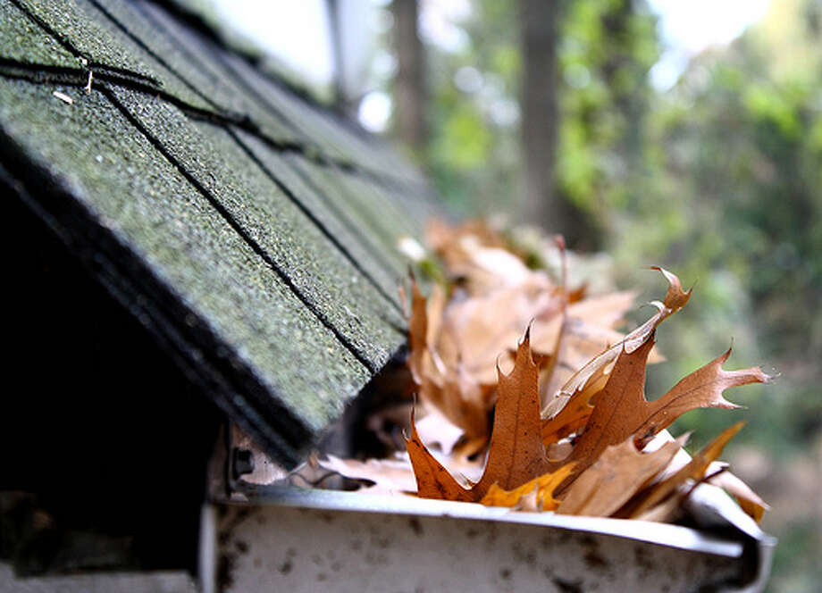 Clean clogged gutters: Well-maintained downspouts can help prevent some water damage. You should make sure you keep these areas clean during hurricane season. Photo: Lauren Finkel Photography, FlickrSource: FEMA Photo: Flickr