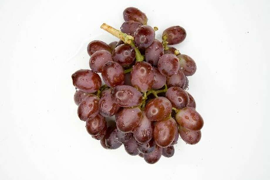 Grapes are a finger food that is good for you.
