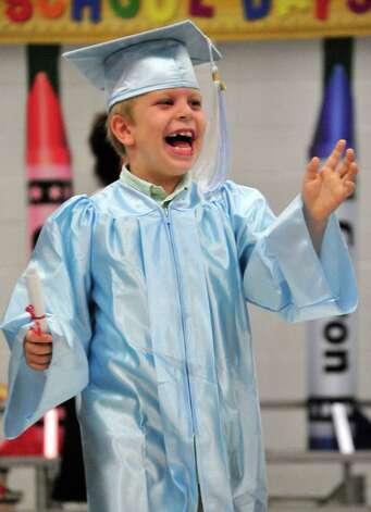 The Lumberton Early Childhood School held graduation ceremonies for its kindergartners. Photo: Cassie Smith