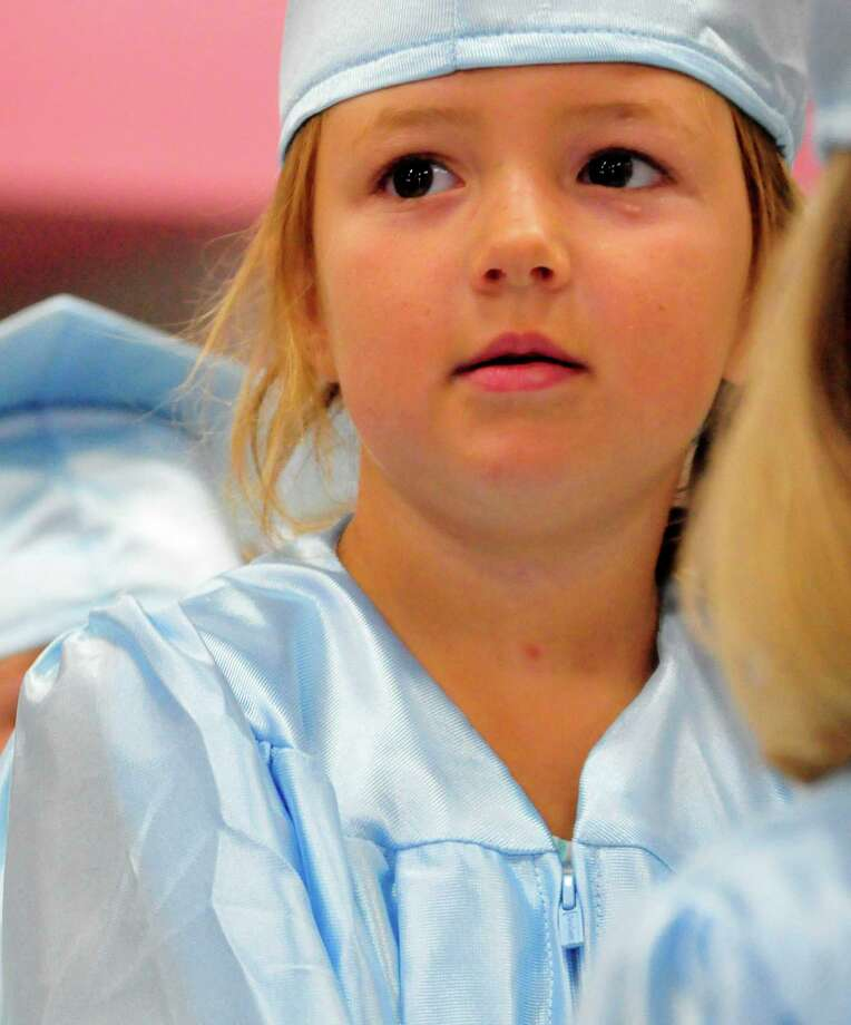 The Lumberton Early Childhood School held graduation ceremonies for its kindergartners. Photo: Cassie Smith
