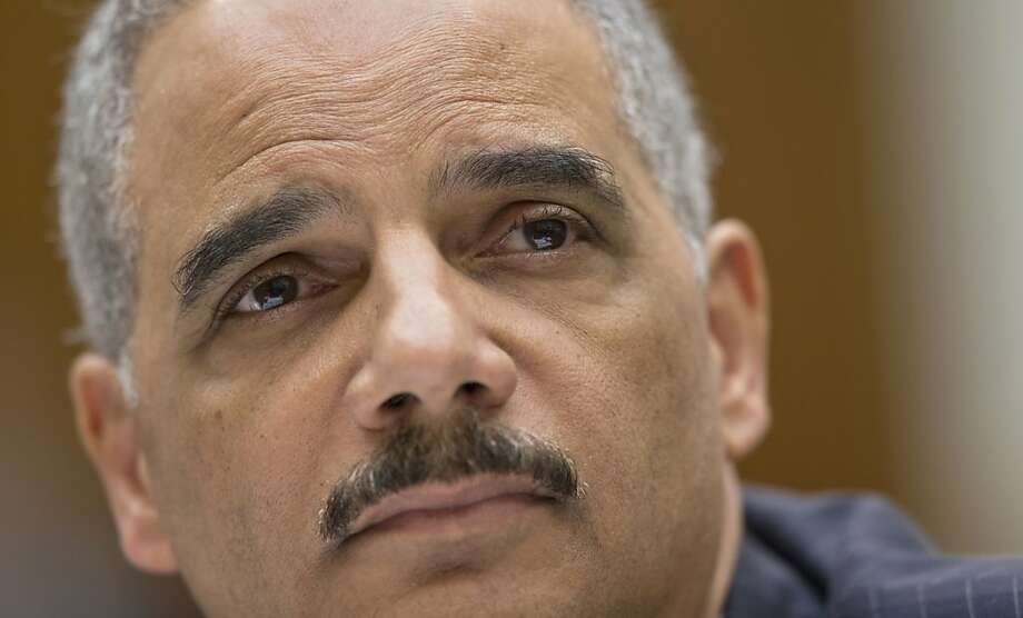 President Obama says Attorney General Eric Holder, above, shares his concern on press freedom, but the Associated Press scandal suggests such sensitivity did not travel down the chain of command. Photo: J. Scott Applewhite, Associated Press