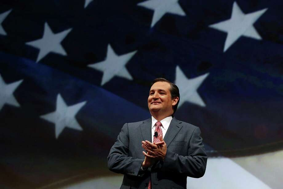 A reader describes U.S. Sen. Ted Cruz, R-Texas, shown at  the recent 