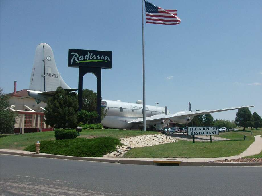 Finally, the Airplane Restaurant, Adjacent to the Radisson Hotel Colorado Springs, is a former Boeing KC-97 tanker built in 1953. It has been used as a restaurant since 2002. Photo:  	Xnatedawgx, Wikimedia Commons