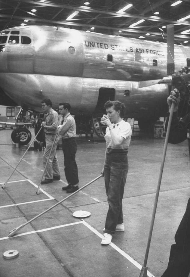 """Sales of the KC-97s helped pull Boeing out of the post-war slump,"" according to Boeing. Photo: Alfred Eisenstaedt, Time & Life Pictures/Getty Image / Time Life Pictures"