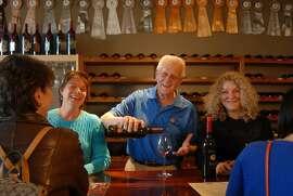 Ramazzotti Wines' tasting room