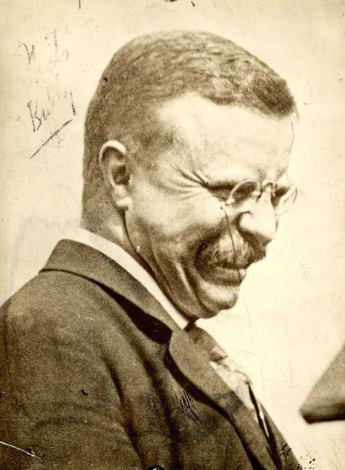 Theodore Roosevelt in 1912. (Photo: Underwood & Underwood, N. Y. Herald Syndicate and P-I archives).  Photo: -