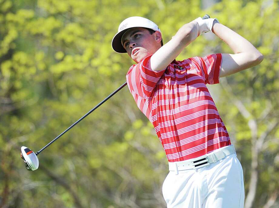 Greenwich High School golf star Dan Guise has led the Cardinals to two consecutive 21-0 seasons. Soon he will pack up his clubs and head to Wake Forest University, Winston-Salem NC, where he will play for the Deamon Deacons. Photo: Bob Luckey / Greenwich Time