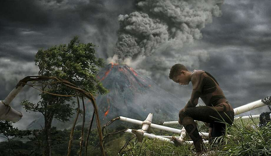 "Jaden Smith stars in Columbia Pictures' ""After Earth,"" also starring Will Smith. Photo: Courtesy Of Columbia Pictures., Sony Pictures"