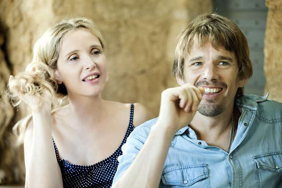 "Julie Delpy's Celine and Ethan Hawke's Jesse have settled in to a difficult long-term relationship in ""Before Midnight,"" the third film about them. Photo: Despina Spyrou, Sony Pictures Classics"
