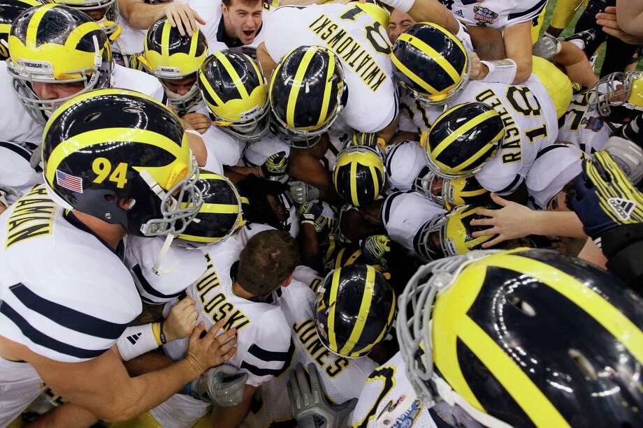 University of Michigancame in with the most lucrative deal.AdidasEquipment and apparel: $4.4MCash: $3.8M Photo: Kevin C. Cox, Getty Images / 2012 Getty Images
