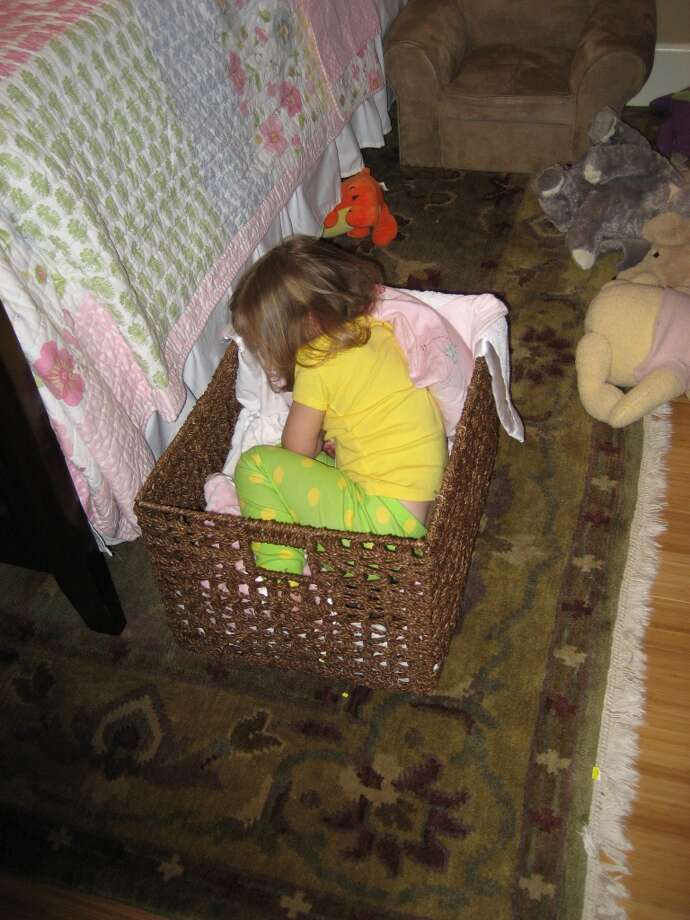 Dozing off in a basket. Photo: Danielle-collins