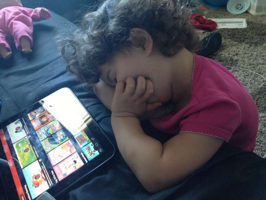 Finally, an app that puts kids to sleep. Photo: Kimberly-buffington