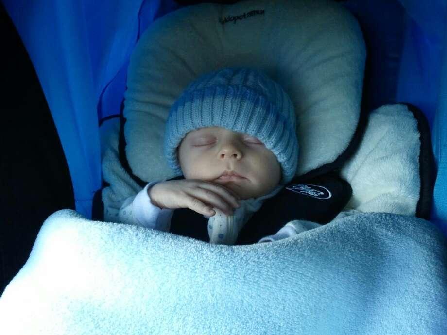 Sleeping angel. Photo: Mosbaugh-scott