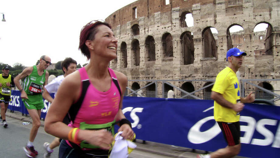 "Ylenia Anelli, a running store owner in Milan, Italy, attempting her first marathon, is one of the seven athletes preparing for the Rome Marathon profiled in the upcoming documentary ""Spirit of the Marathon II."" Photo: Courtesy NCM Fathom Events"