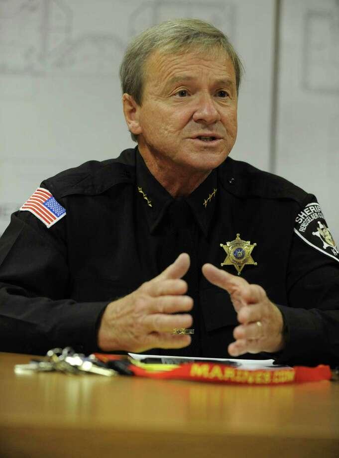 Rensselaer County Sheriff, Jack Mahar is shown on Oct. 19, 2011. (Lori Van Buren / Times Union archive) Photo: Lori Van Buren / 00015036A