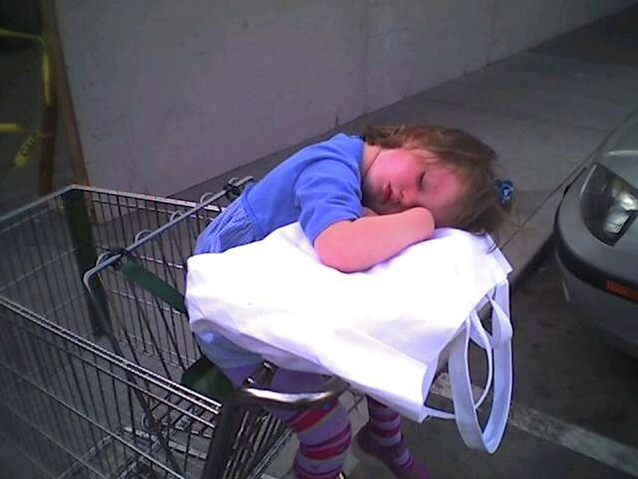 Too exhausted to shop. Photo: Newman-erin