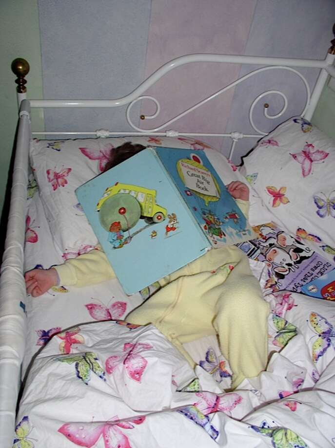 Nothing like a good book to put you to sleep. Photo: Newman-erin