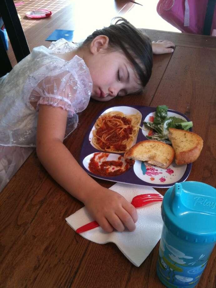 Too tired to eat. Photo: Jaime-granieri