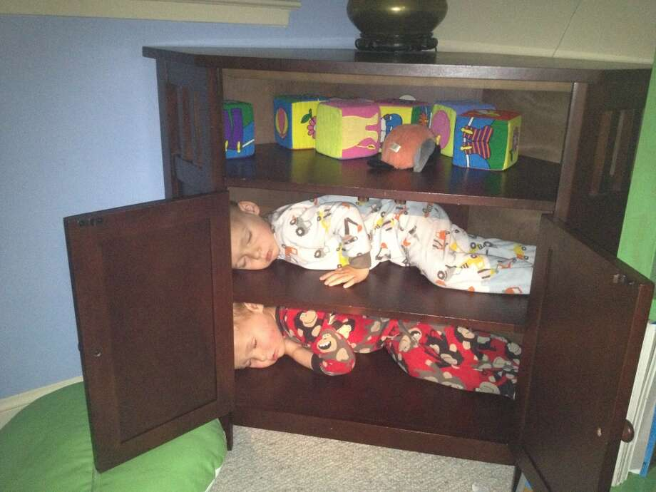 Twins in a cabinet. Photo: Jay-hubbs