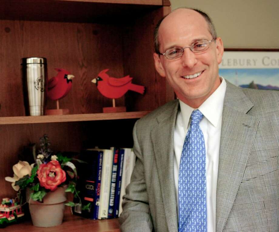 Chris Winters was named headmaster of Greenwich High School.// STAFF FILE PHOTO Photo: Helen Neafsey / Greenwich Time