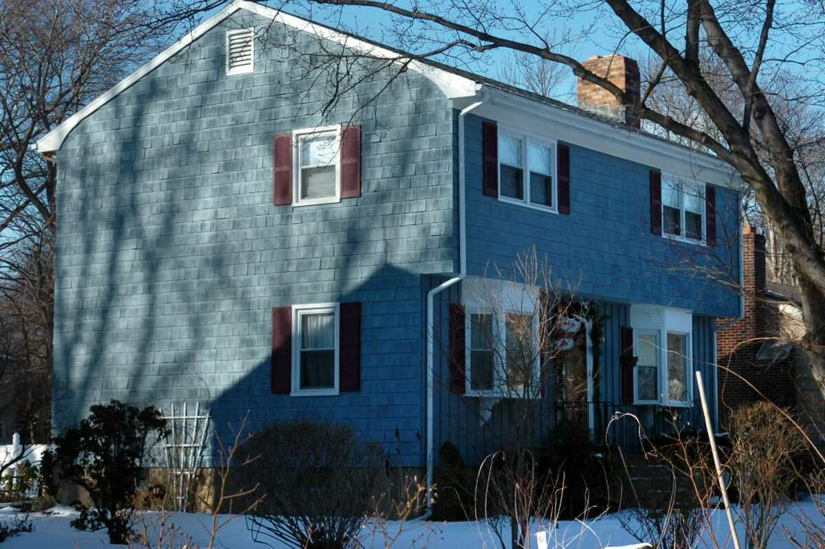 154 Forestview Rd. in Bridgeport, Conn. Jan. 12th, 2010. Frank Dore was taken into custody and charged with murder soon after police discovered the body of his wife, Patti, in the two-story Colonial home about 8 a.m.