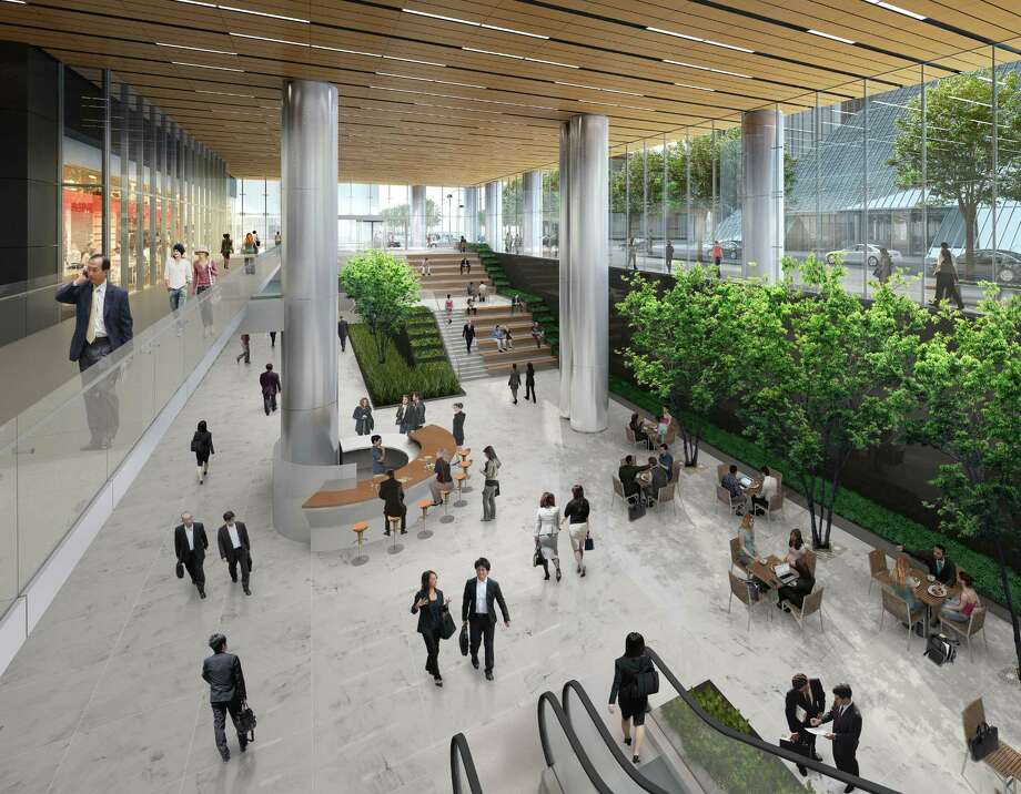 Skanska's proposal would address an issue recently highlighted by Mayor Annise Parker: improving connections between downtown Houston's streets and its extensive network of tunnels. Photo: Gensler Handout