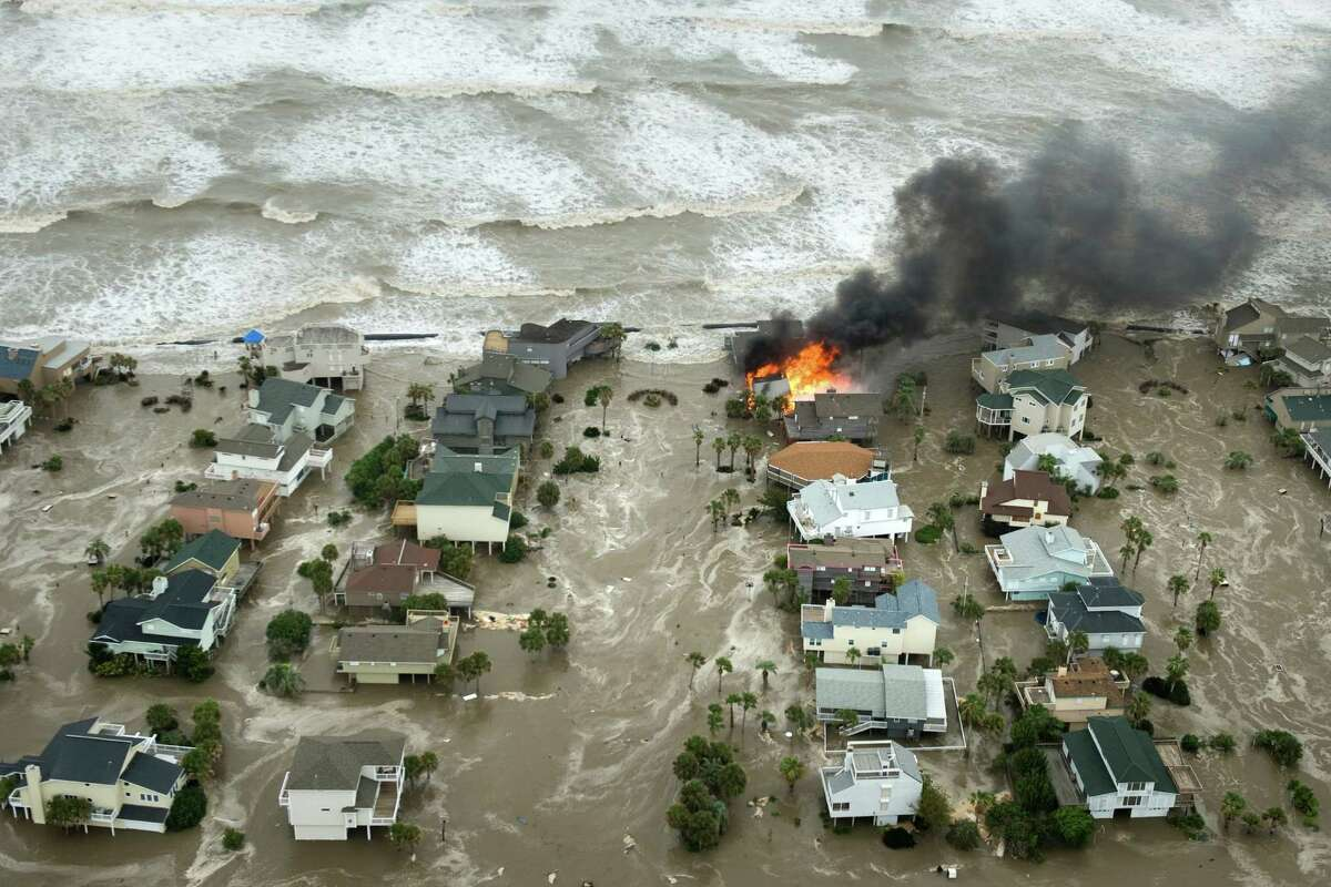 It could have been much worse When Hurricane Ike made landfall, the resulting storm surge caused more than $30 billion in damage along the Texas coast.