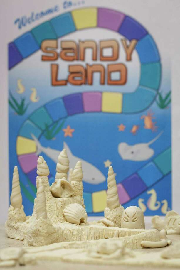 "The clay sand castle model named ""Sandy Land"" which WGW Architects employees will build Saturday June 1, at the 27th annual AIA SandCastle Competition on Galveston's East Beach, Wednesday, May 22, 2013, in Houston. Photo: Michael Paulsen, Houston Chronicle / © 2013 Houston Chronicle"