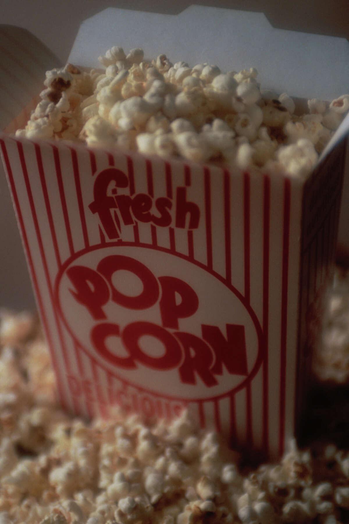 Illinois state snack: Popcorn
