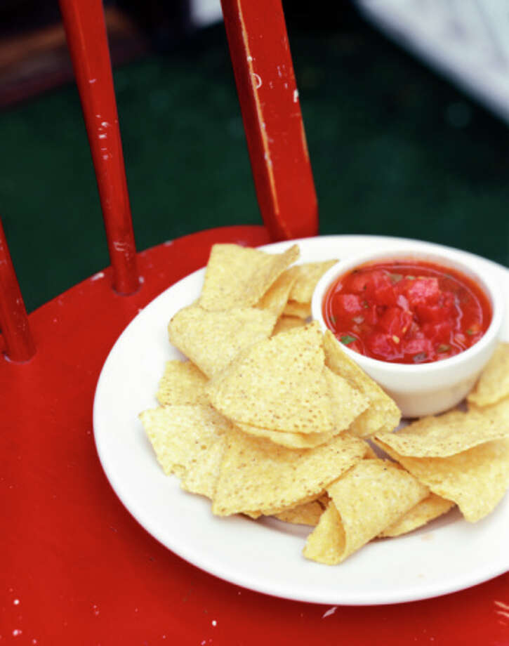 Texas state snack: Tortilla chips and salsa Photo: Katherine A. Mathis, Kate Mathis / (c) Kate Mathis