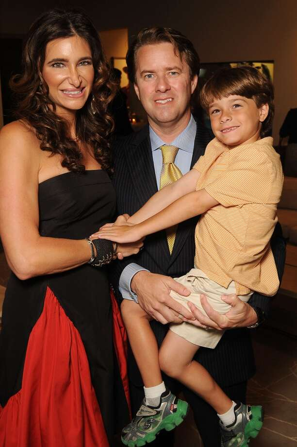 Melissa and Michael Mithoff and their son Matthew