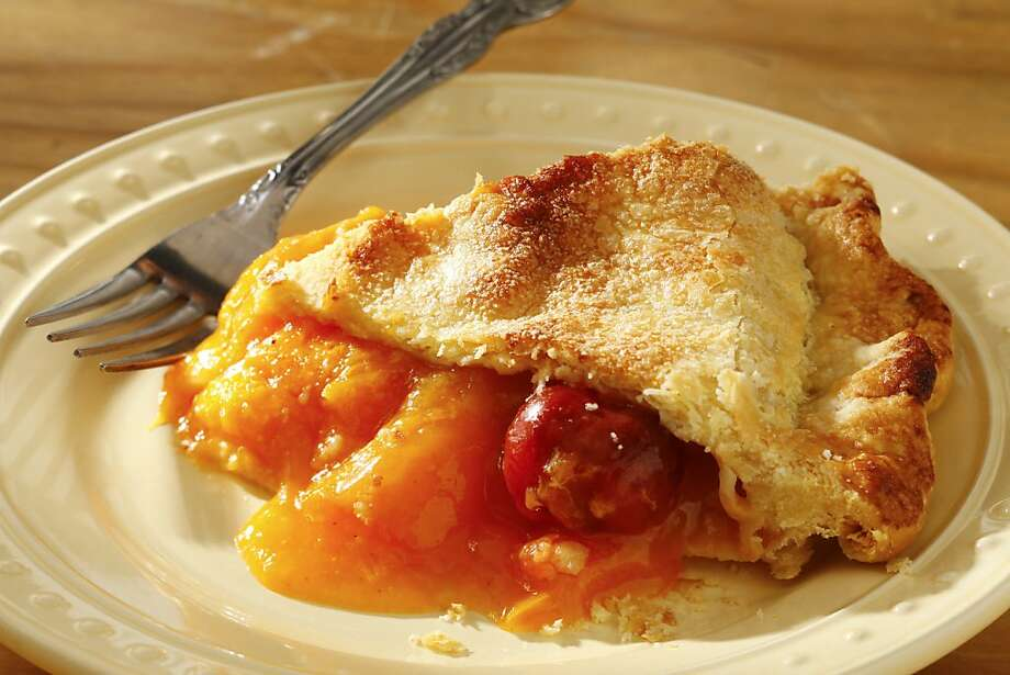 Butter Love Bakeshop's Apricot Cherry Pie. Photo: Craig Lee, Special To The Chronicle